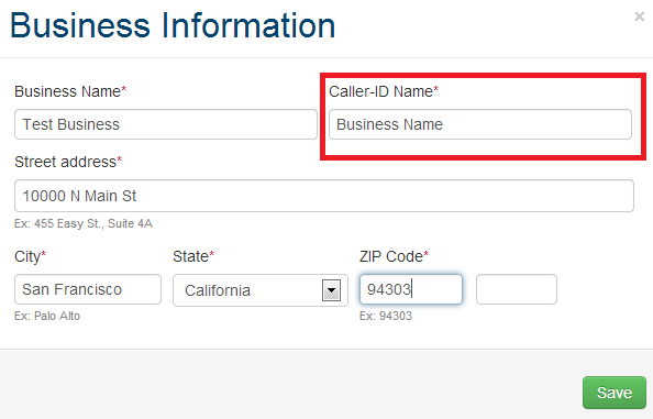 Change your caller id name metropcs